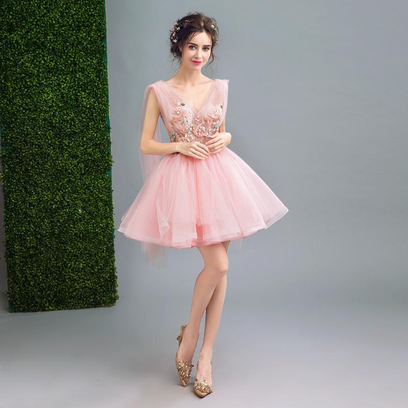 Короткое свадебное платье Нимфа