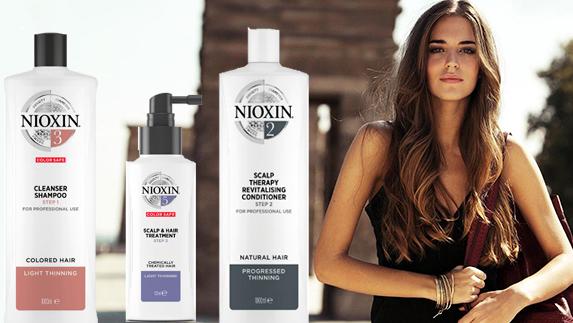 Косметики для волос Nioxin