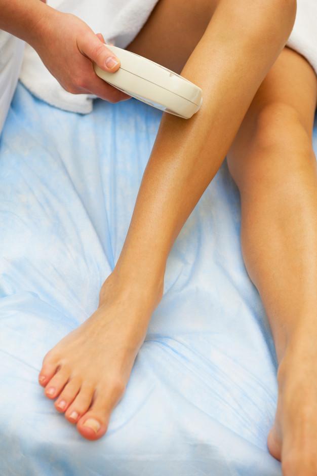 Лазерная эпиляция ног и ее особенности