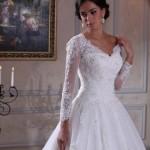 Новые тренды в свадебных платьях: длинные рукава, кейпы и пелерины