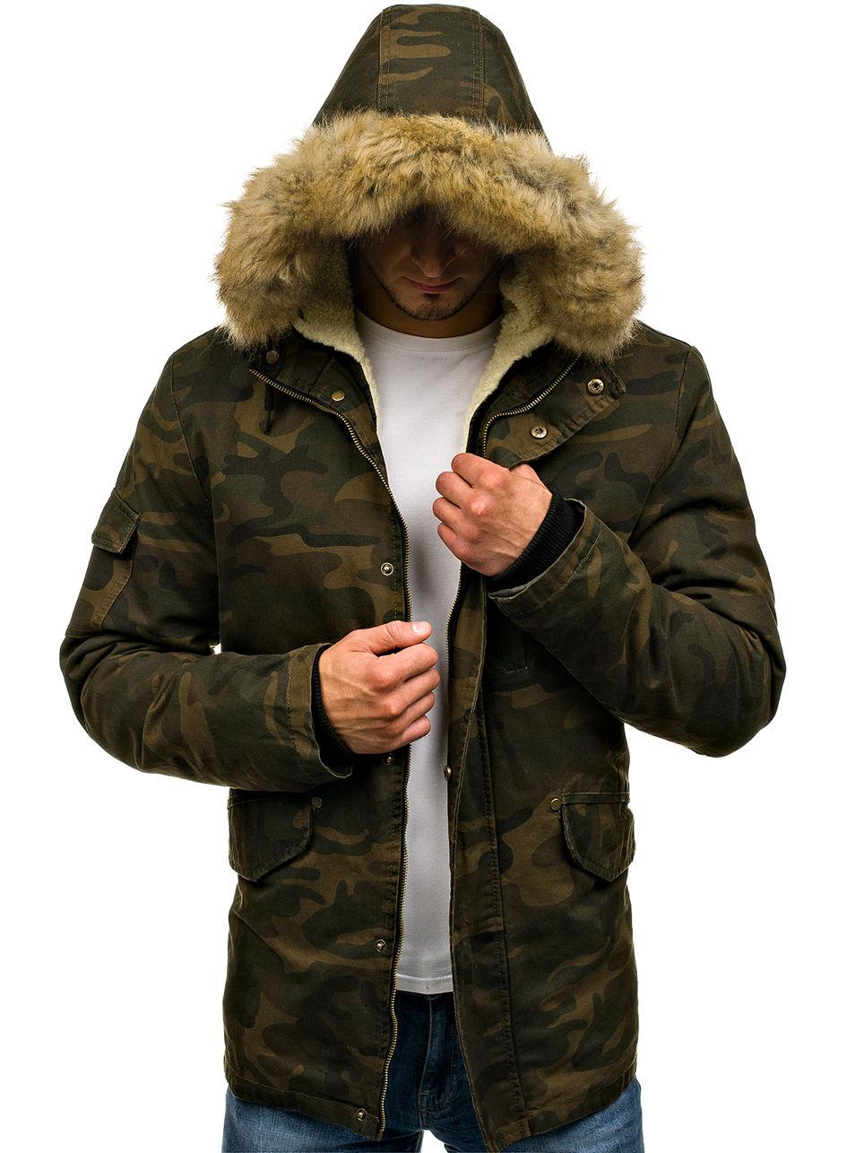rus_pl_Мужская-зимняя-куртка-парка-камуфляж-хаки-Bolf-4662-50785_3