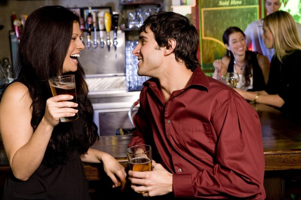 Баре знакомства с девушками в